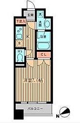 KDXレジデンス神楽坂[4階]の間取り