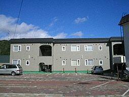 北海道札幌市西区西野七条2丁目の賃貸アパートの外観