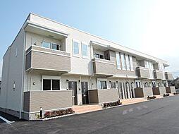 福岡県北九州市八幡西区楠橋下方1丁目の賃貸アパートの外観