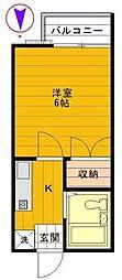 昭和記念荘[1階]の間取り