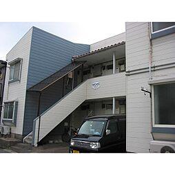 新潟県新潟市中央区米山3丁目の賃貸アパートの外観