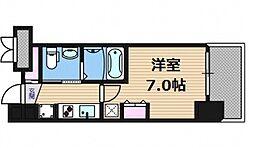ファーストステージ梅田WEST[15階]の間取り