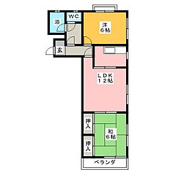太正マンション[3階]の間取り