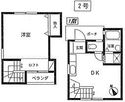 [テラスハウス] 神奈川県藤沢市辻堂1丁目 の賃貸【/】の間取り
