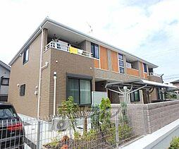 大阪府枚方市津田山手の賃貸アパートの外観