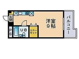 大産赤坂ビル[7階]の間取り
