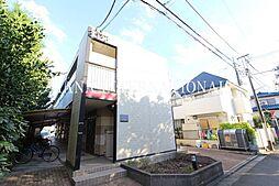 東京都調布市深大寺南町5丁目の賃貸アパートの外観