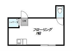 芝原ビル[2階]の間取り