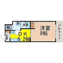 T's Dream名駅[2階]の間取り