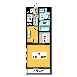 Art de Vivre[4階]の間取り