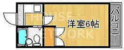 ミヤタハイツ[203号室号室]の間取り
