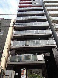 東京都中央区築地7丁目の賃貸マンションの外観
