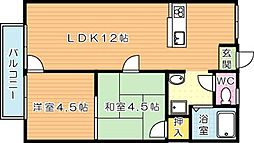 プチメゾン高須[2階]の間取り