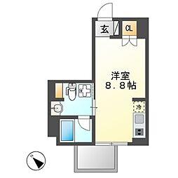 Comfort金山[4階]の間取り