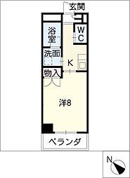 鹿乃子ビル[3階]の間取り