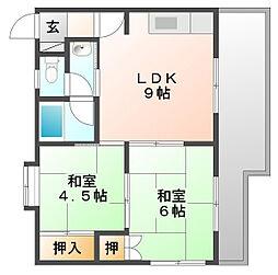 メゾン・ド・レグルス[2階]の間取り