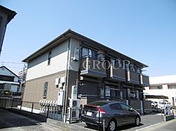 東京都八王子市兵衛1丁目の賃貸アパートの外観