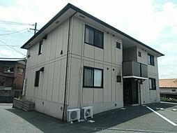 ディアコート西田 B棟[2階]の外観