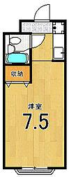 エトワール嵐山[402号室]の間取り