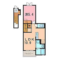 仮)安城市和泉町アパート[202号室]の間取り