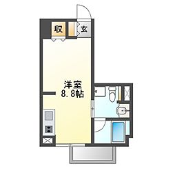 Comfort金山[3階]の間取り