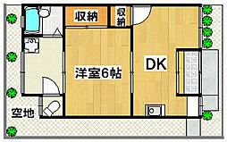 [テラスハウス] 大阪府豊中市利倉2丁目 の賃貸【大阪府 / 豊中市】の間取り