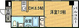 ジューム神山[8階]の間取り