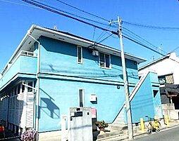 大阪府高石市東羽衣3丁目の賃貸アパートの外観