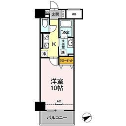 D-Room安島[803号室]の間取り