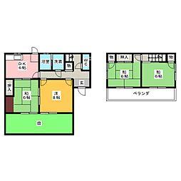 [一戸建] 愛知県豊田市豊栄町5丁目 の賃貸【/】の間取り