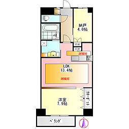 U・TOPIA TOWER[2階]の間取り