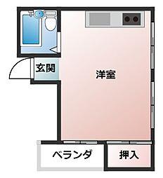 マルツ吉田ビル[3階]の間取り
