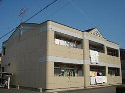 愛知県小牧市外堀3丁目の賃貸アパートの外観