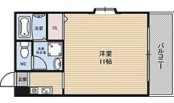 メディオカーサ[7階]の間取り