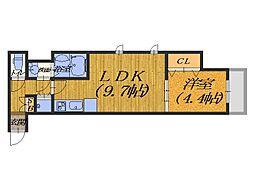 Framewood[2階]の間取り