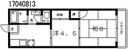 ヴォーグマンション[5階]の間取り