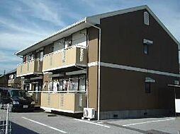 タウン・ハピネスA[101号室]の外観