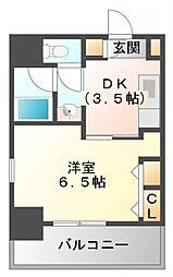 第13関根マンション[2階]の間取り
