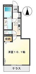 仮)東山アパート[101号室号室]の間取り