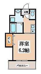 THE ESTATE NAGASE[3階]の間取り