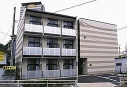 東京都多摩市落合2丁目の賃貸アパートの外観