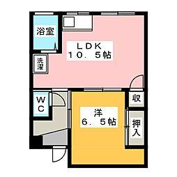 第1近藤ビル[4階]の間取り