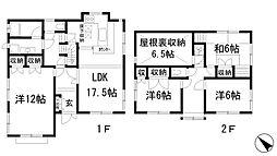 [一戸建] 兵庫県川西市清和台西1丁目 の賃貸【/】の間取り