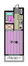 リバティハウス[1階]の間取り