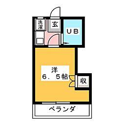 白羽根ビレッジ[4階]の間取り