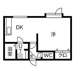 メゾンサチ[3階]の間取り