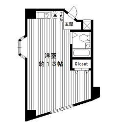 東京都練馬区豊玉北の賃貸マンションの外観