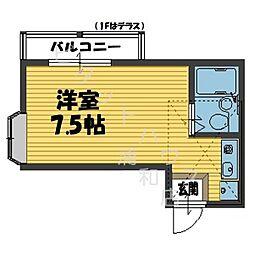 ドルフ浦和2[203号室]の間取り