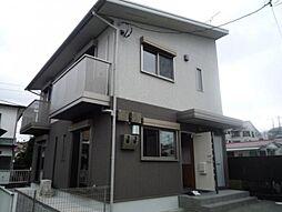 神奈川県秦野市ひばりケ丘の賃貸アパートの外観