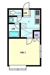 Sakura[205号室]の間取り